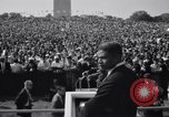 Image of Civil Rights marchers Washington DC USA, 1963, second 3 stock footage video 65675028220