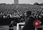 Image of Civil Rights marchers Washington DC USA, 1963, second 4 stock footage video 65675028220