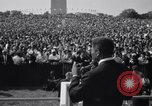 Image of Civil Rights marchers Washington DC USA, 1963, second 5 stock footage video 65675028220