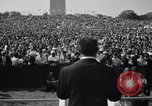 Image of Civil Rights marchers Washington DC USA, 1963, second 6 stock footage video 65675028220