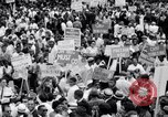 Image of Marian Anderson at March Washington DC USA, 1963, second 7 stock footage video 65675028221