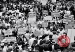 Image of Marian Anderson at March Washington DC, 1963, second 9 stock footage video 65675028221