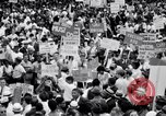 Image of Marian Anderson at March Washington DC USA, 1963, second 11 stock footage video 65675028221