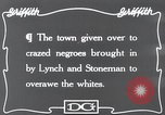 Image of Negroes Eastern United States USA, 1916, second 3 stock footage video 65675028230