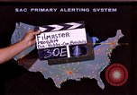 Image of primary alerting system United States USA, 1961, second 1 stock footage video 65675028240