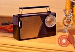 Image of General Electric transistor radio United States USA, 1961, second 4 stock footage video 65675028247