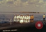 Image of USS Patrick Henry Newport Rhode Island USA, 1960, second 7 stock footage video 65675028264