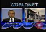 Image of Frank Carlucci speaking about Guatemala United States USA, 1987, second 10 stock footage video 65675028280