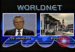 Image of Frank Carlucci speaking about Guatemala United States USA, 1987, second 11 stock footage video 65675028280