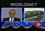 Image of Frank Carlucci speaking about drug trafficking United States USA, 1987, second 1 stock footage video 65675028281