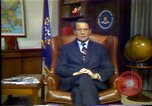 Image of FBI director William Webster United States USA, 1986, second 9 stock footage video 65675028291