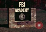 Image of Federal Bureau of Investigation Quantico Virginia USA, 1976, second 2 stock footage video 65675028296