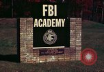 Image of Federal Bureau of Investigation Quantico Virginia USA, 1976, second 4 stock footage video 65675028296