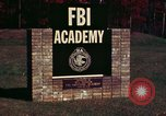 Image of Federal Bureau of Investigation Quantico Virginia USA, 1976, second 5 stock footage video 65675028296