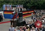 Image of President Ronald Reagan Berlin Germany, 1987, second 4 stock footage video 65675028305