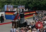 Image of President Ronald Reagan Berlin Germany, 1987, second 5 stock footage video 65675028305