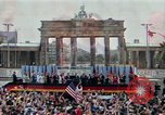 Image of Ronald Reagan Berlin Germany, 1987, second 1 stock footage video 65675028315