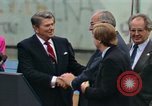 Image of Ronald Reagan Berlin Germany, 1987, second 12 stock footage video 65675028315