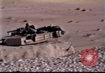Image of US tanks Iraq, 1991, second 8 stock footage video 65675028321