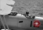 Image of U.S. Navy student pilot completes first solo in N3N seaplane Pensacola Florida USA, 1938, second 6 stock footage video 65675028329