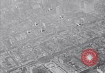 Image of World War 1 US Army aviation cadets fly over New York Cityy New York United States USA, 1917, second 4 stock footage video 65675028342