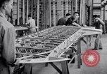 Image of Stearman factory Wichita Kansas USA, 1934, second 2 stock footage video 65675028348