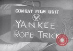 Image of airplane on surface Pacific Theater, 1944, second 3 stock footage video 65675028379