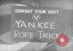 Image of airplane on surface Pacific Theater, 1944, second 8 stock footage video 65675028379