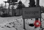 Image of wrecked vehicles Bastogne Belgium, 1945, second 5 stock footage video 65675028441