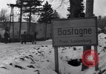 Image of wrecked vehicles Bastogne Belgium, 1945, second 9 stock footage video 65675028441
