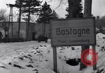 Image of wrecked vehicles Bastogne Belgium, 1945, second 11 stock footage video 65675028441