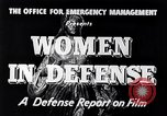Image of American women United States USA, 1941, second 3 stock footage video 65675028444