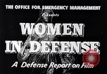 Image of American women United States USA, 1941, second 9 stock footage video 65675028444