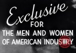 Image of American women United States USA, 1944, second 11 stock footage video 65675028447