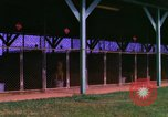 Image of K-9 sentry dogs Phu Cat Air Base Vietnam, 1969, second 2 stock footage video 65675028491