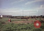 Image of sentry dogs Tan Son Nhut Air Force Base Vietnam, 1965, second 3 stock footage video 65675028494