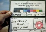 Image of sentry dogs Tan Son Nhut Air Force Base Vietnam, 1965, second 2 stock footage video 65675028496