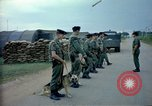 Image of sentry dogs Tan Son Nhut Air Force Base Vietnam, 1965, second 3 stock footage video 65675028497