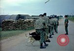 Image of sentry dogs Tan Son Nhut Air Force Base Vietnam, 1965, second 4 stock footage video 65675028497