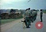 Image of sentry dogs Tan Son Nhut Air Force Base Vietnam, 1965, second 6 stock footage video 65675028497