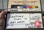 Image of sentry dogs Tan Son Nhut Air Force Base Vietnam, 1965, second 1 stock footage video 65675028498