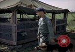 Image of sentry dogs Tan Son Nhut Air Force Base Vietnam, 1965, second 8 stock footage video 65675028498