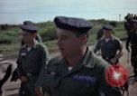 Image of sentry dogs Tan Son Nhut Air Force Base Vietnam, 1965, second 4 stock footage video 65675028500