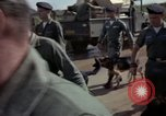 Image of sentry dogs Tan Son Nhut Air Force Base Vietnam, 1965, second 7 stock footage video 65675028500