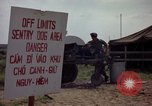 Image of sentry dogs Tan Son Nhut Air Force Base Vietnam, 1965, second 8 stock footage video 65675028512