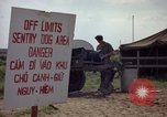 Image of sentry dogs Tan Son Nhut Air Force Base Vietnam, 1965, second 12 stock footage video 65675028512