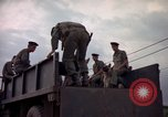 Image of sentry dogs Tan Son Nhut Air Force Base Vietnam, 1965, second 9 stock footage video 65675028513