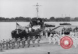 Image of President Roosevelt presents a Patrol Craft (USS P-622) to Greece Washington DC USA, 1944, second 7 stock footage video 65675028525