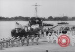 Image of President Roosevelt presents a Patrol Craft (USS P-622) to Greece Washington DC USA, 1944, second 8 stock footage video 65675028525