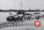 Image of President Roosevelt presents a Patrol Craft (USS P-622) to Greece Washington DC USA, 1944, second 9 stock footage video 65675028525